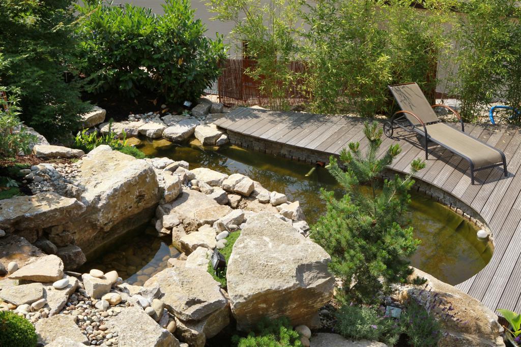 steingarten mit wasserlauf | siteminsk, Gartenarbeit ideen